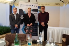 Predsjednik Opstine Bač Steva Pavić, gradonačelnica Grada Iloka Marina Budimir i Mladen Markešić ravnatelj RA TINTL